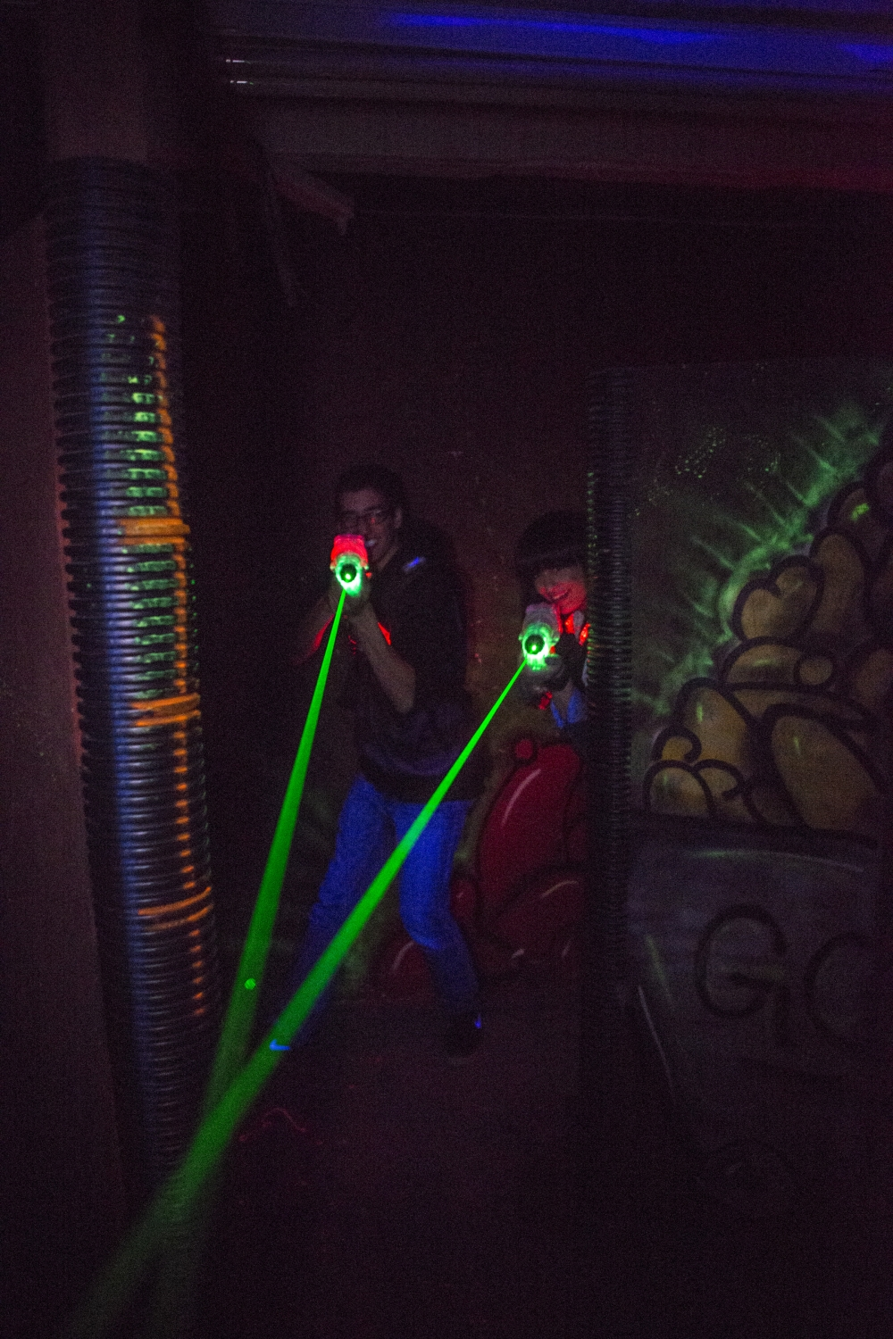 Flags & Wheels Lazer Tag Featured Image