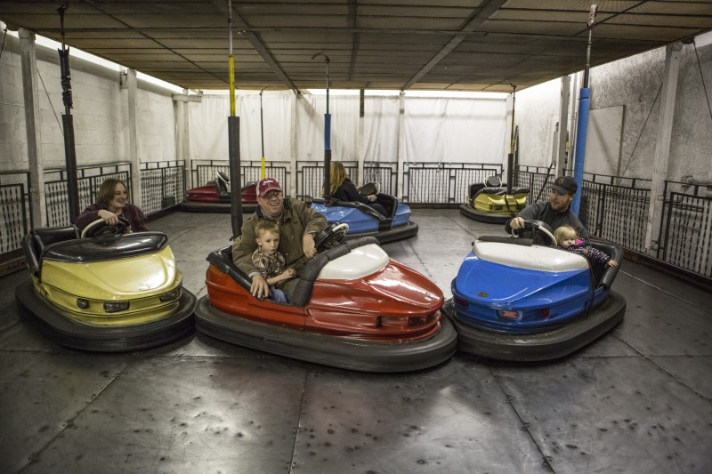 Flags & Wheels Bumper Cars Gallery Image